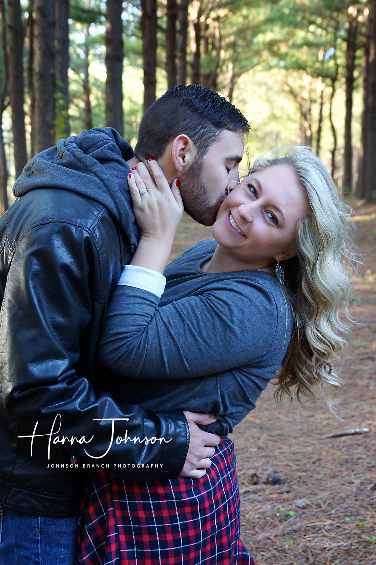 Super cute photo of couple at Jacobson Park in Lexington, KY during engagement photo session